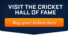 visit the cricket hall of fame