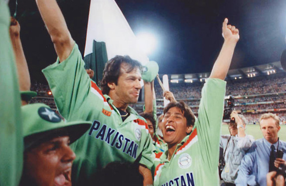 1992 Cricket world cup victory, Imran Khan