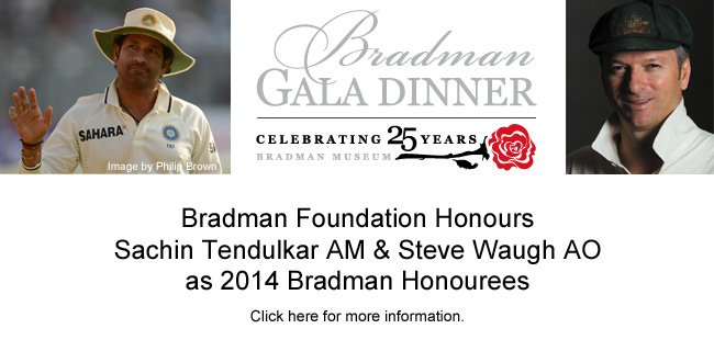 Bradman Gala Dinner – Exciting Announcement