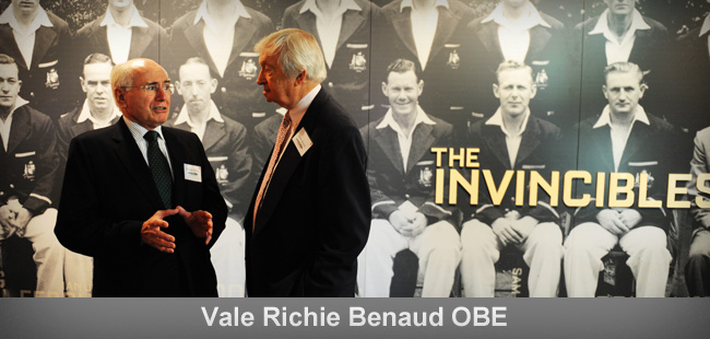 An exclusive interview with Richie Benaud